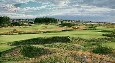 Carnoustie - The 14th & 4th holes